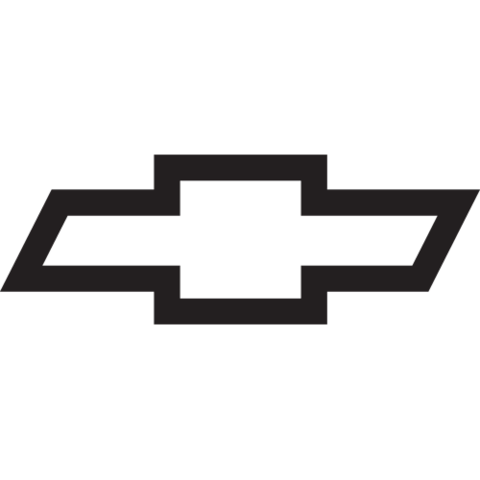 Chevrolet vector bowtie. Chevy logo png simple