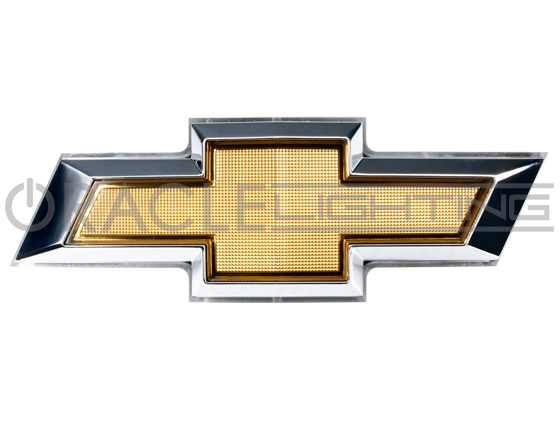 Chevy bowtie png. Illuminated led rear