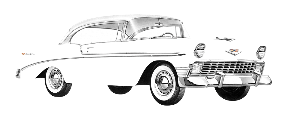 Impala drawing classic. S chevy passion