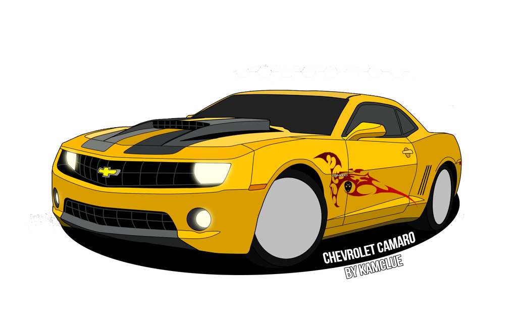 Chevy drawing deviantart. Zl camaro drawings in