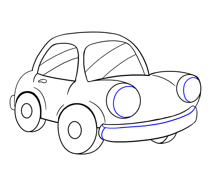 Chevy drawing easy. Sports car at getdrawings