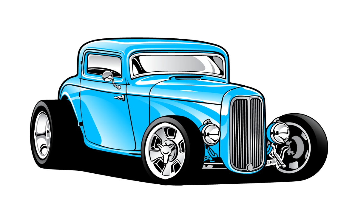Semi drawing hot rod. Clipart at getdrawings com