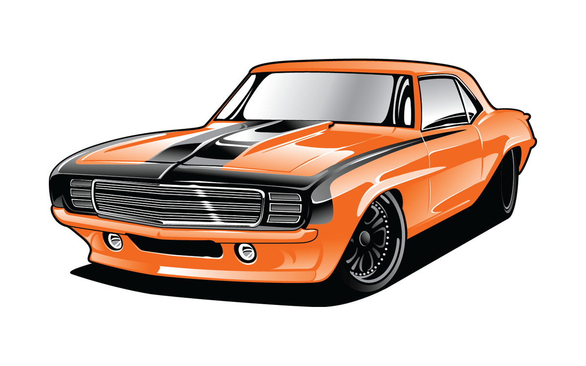 firebird drawing camaro