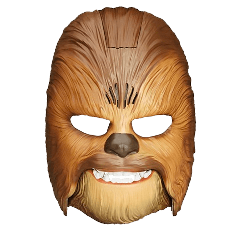 Chewbacca head png. Mask transparent stickpng