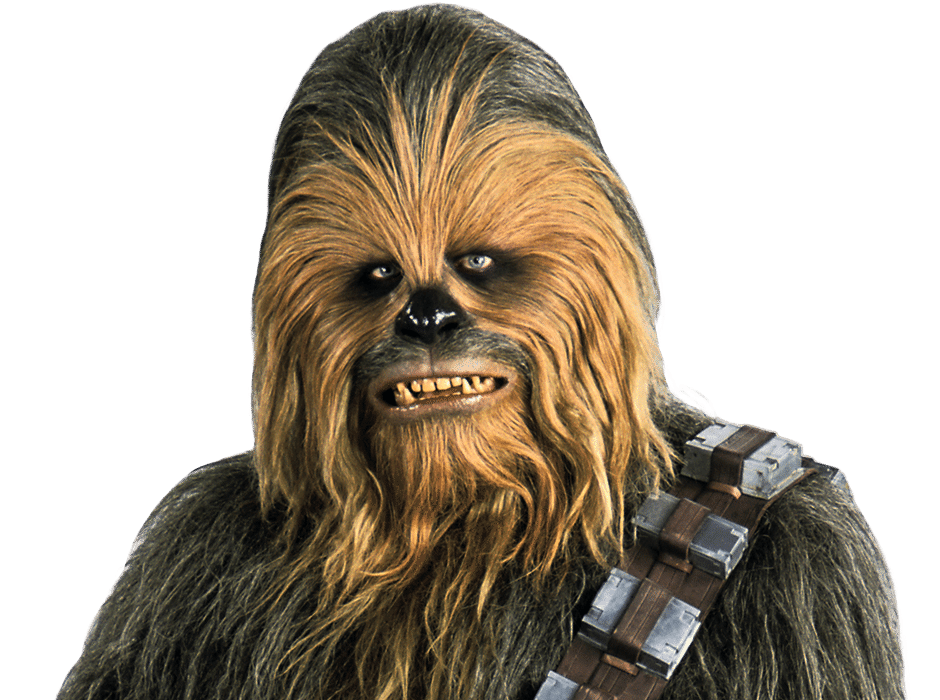Chewbacca head png. Is a wookie life
