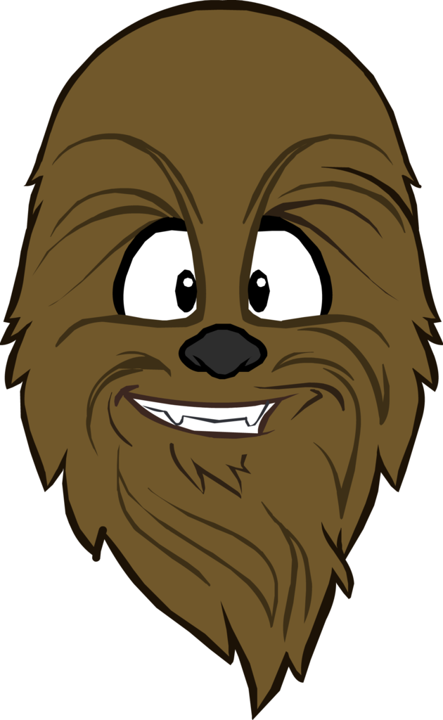 Chewbacca head png. Image mask icon club