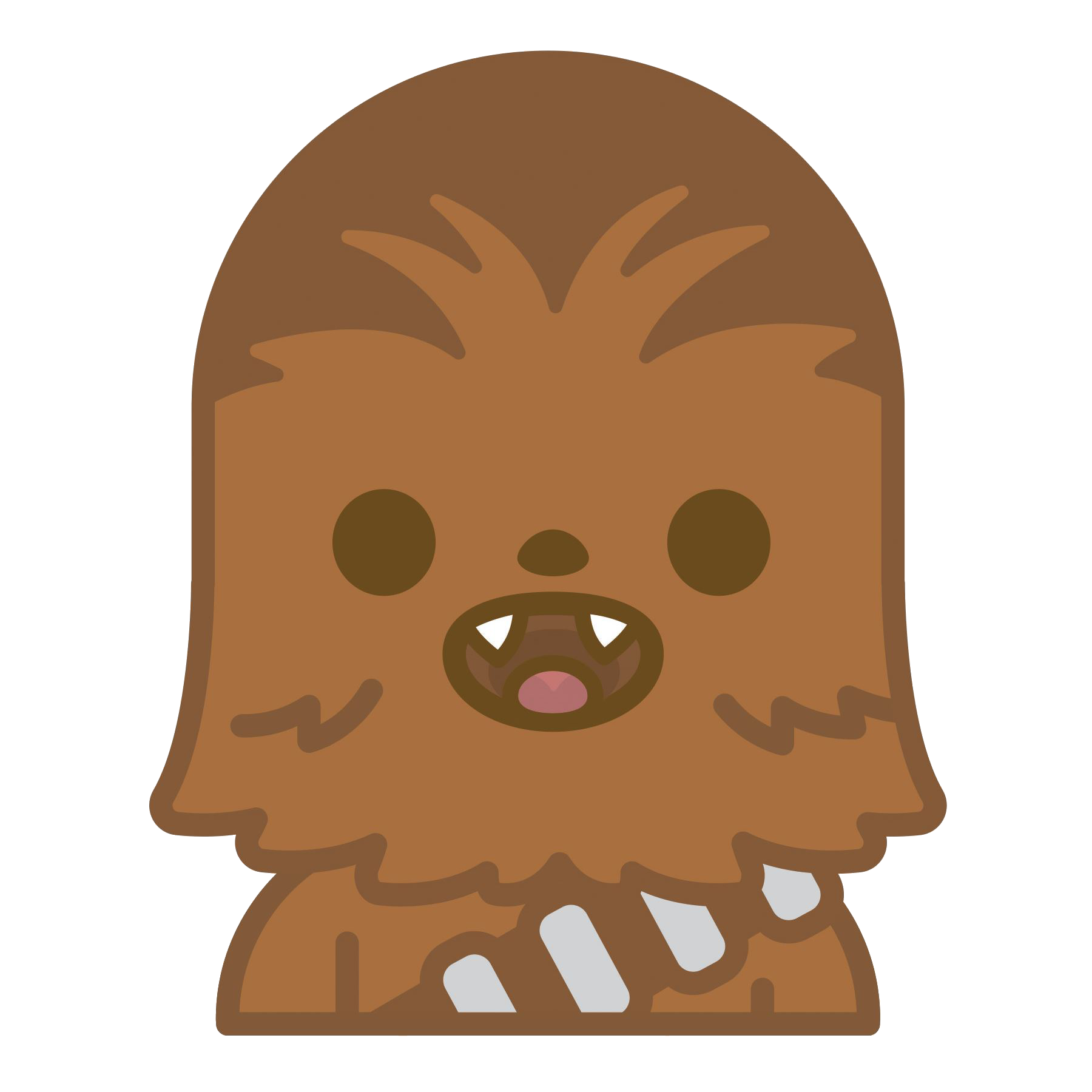 Chewbacca svg. Vector freeuse download