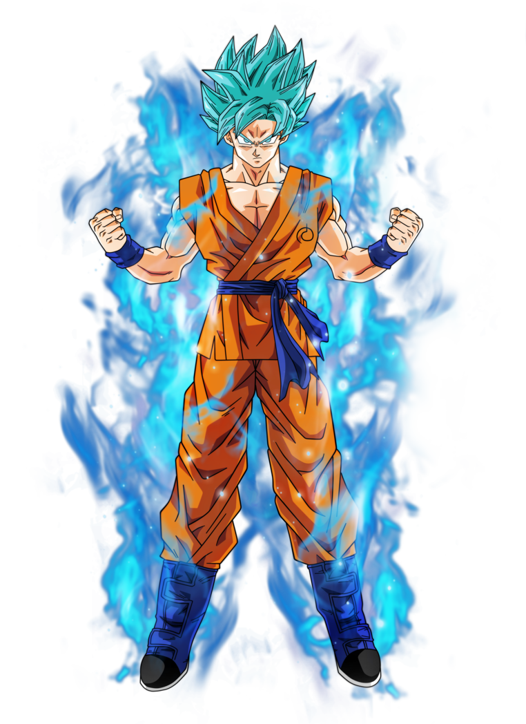 Goku png super saiyan god. Oniku fc oc vs