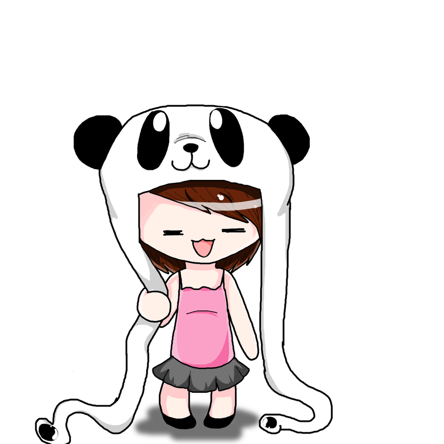 Chibi panda png. Hat by bobblywack on