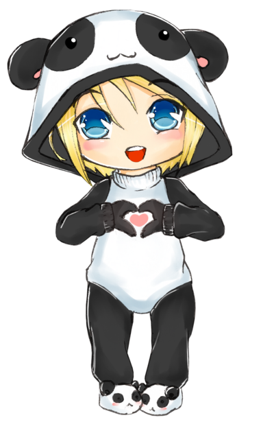 Chibi panda png. By archangelaroz on deviantart