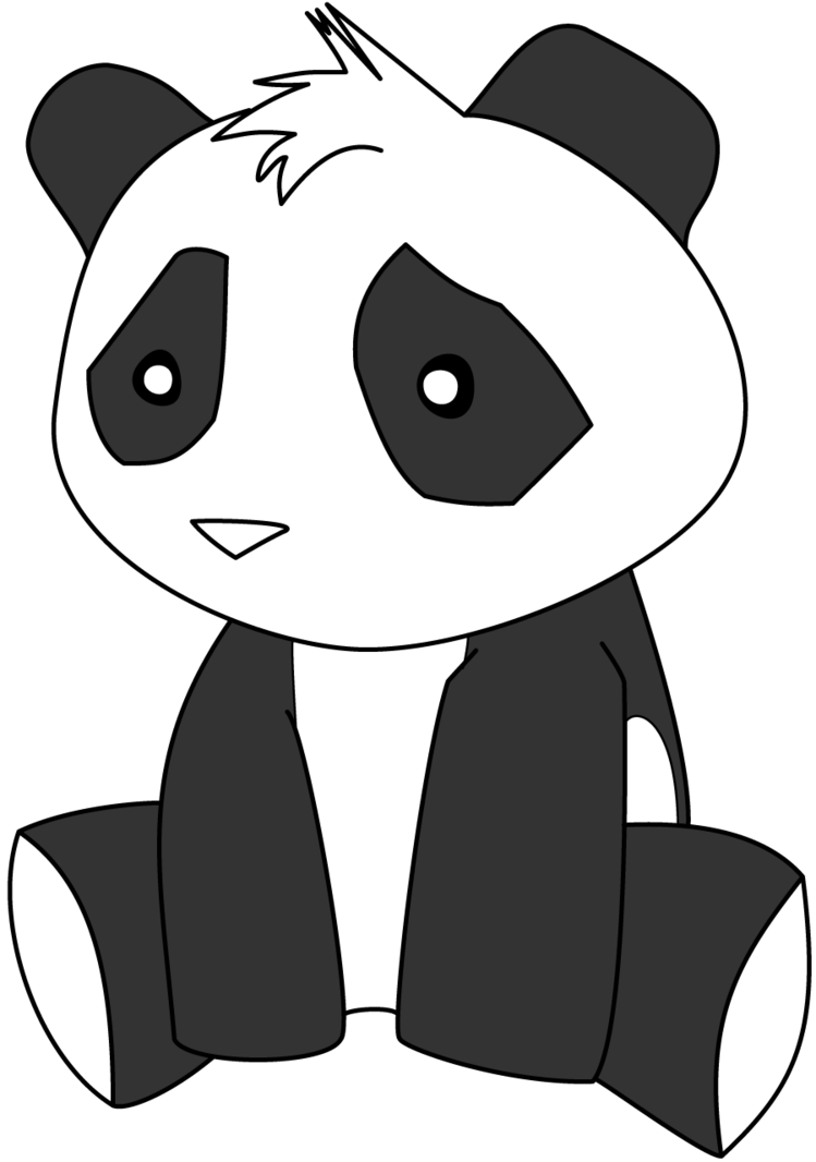 Chibi panda png. By boboss on deviantart
