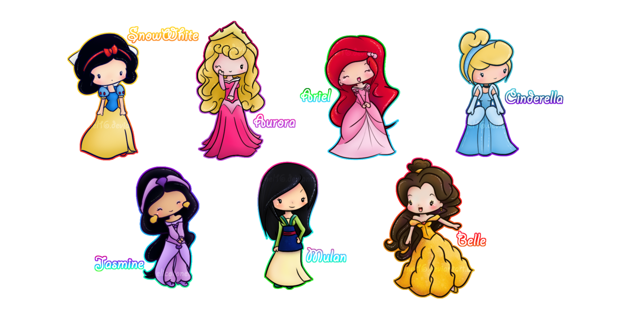 Chibis drawing princess. Images about on