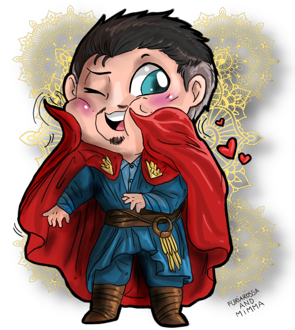 Chibis drawing strange. Doctor a loving cape