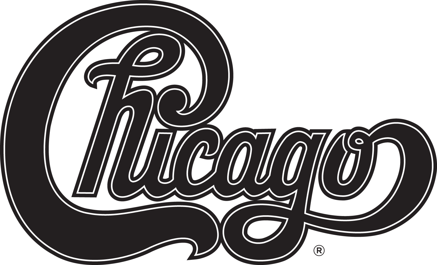 Chicago band logo png. To rock the orpheum