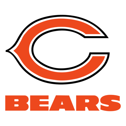 Chicago bears png. American football transparent svg