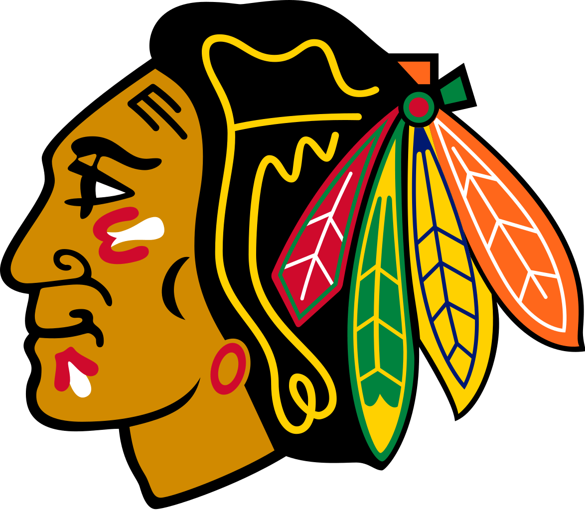 blackhawks feathers png