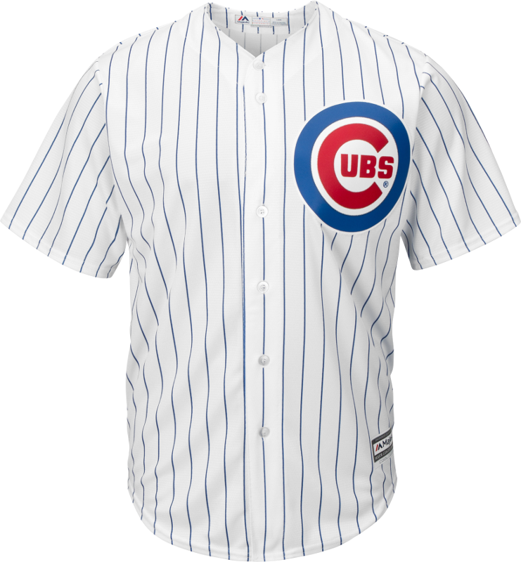 Chicago cubs uniforms png. Adult home jersey