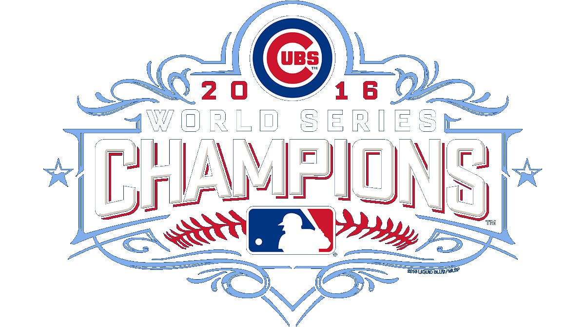 Chicago cubs world series logo png. Champion tees liquid blue