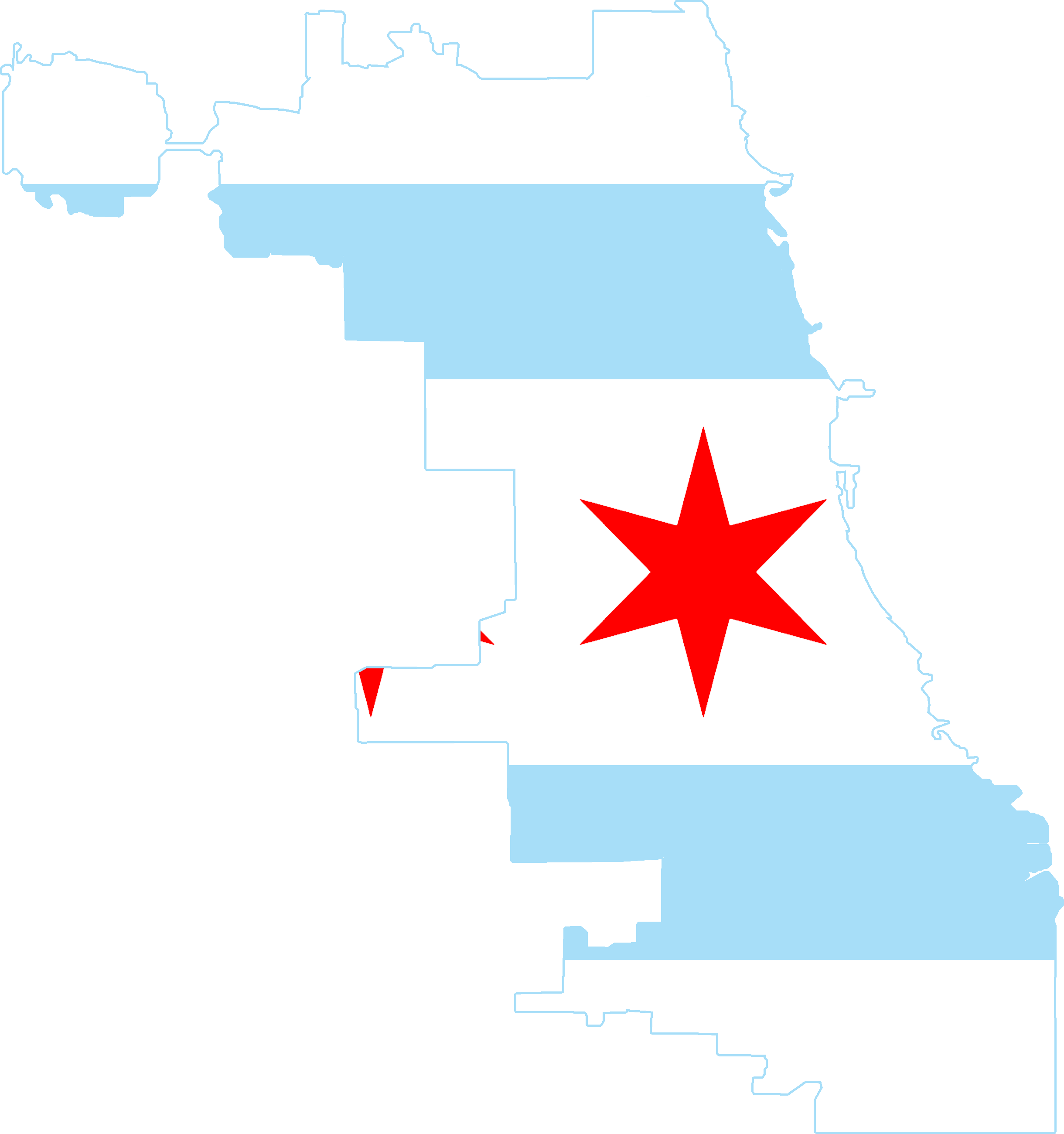 chicago map png