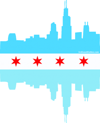 chicago flag transparent png