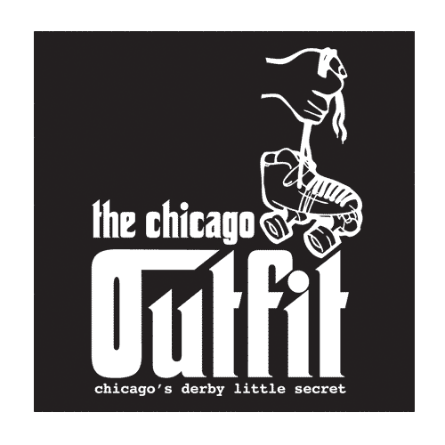 Chicago outfit roller derby logo png