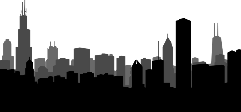 Chicago silhouette png. L background troublesome solutions