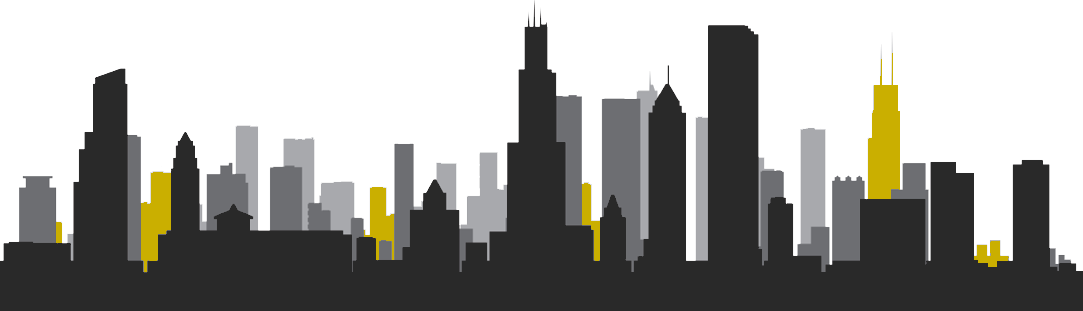Chicago skyline png. Clipart mart