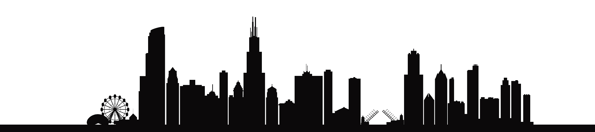 Chicago skyline png. About us audio visual