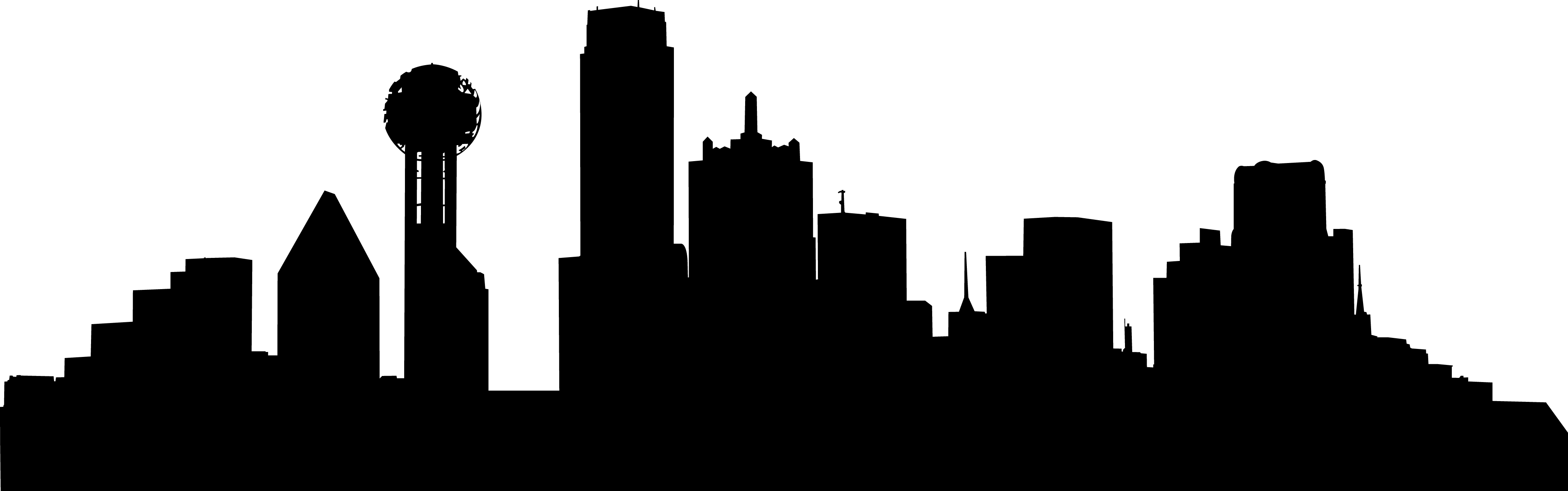Houston drawing skyscraper. Chicago skyline silhouette wallpaper