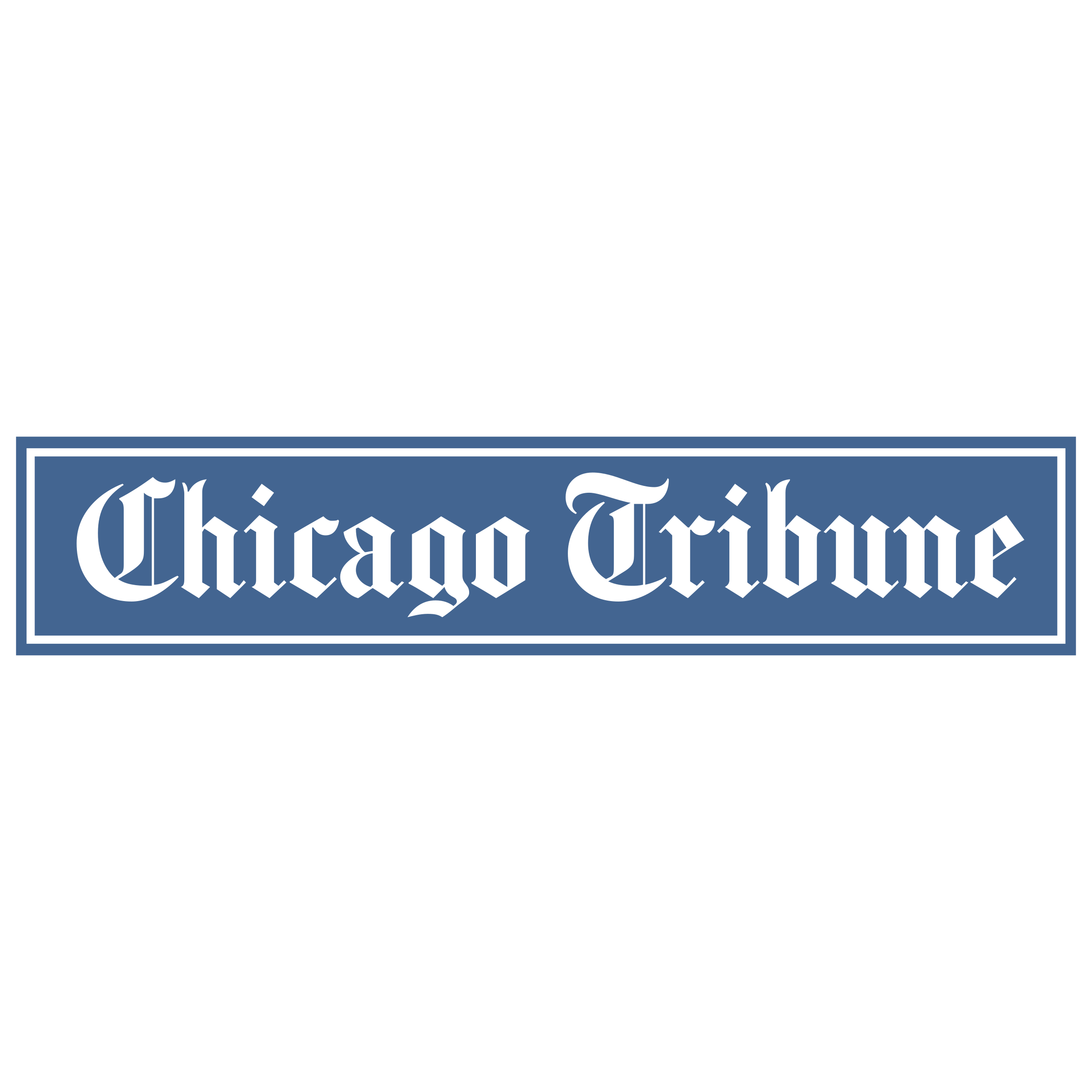Chicago tribune logo png. Transparent svg vector freebie