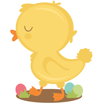 Chick clipart design. Baby svg scrapbook cut