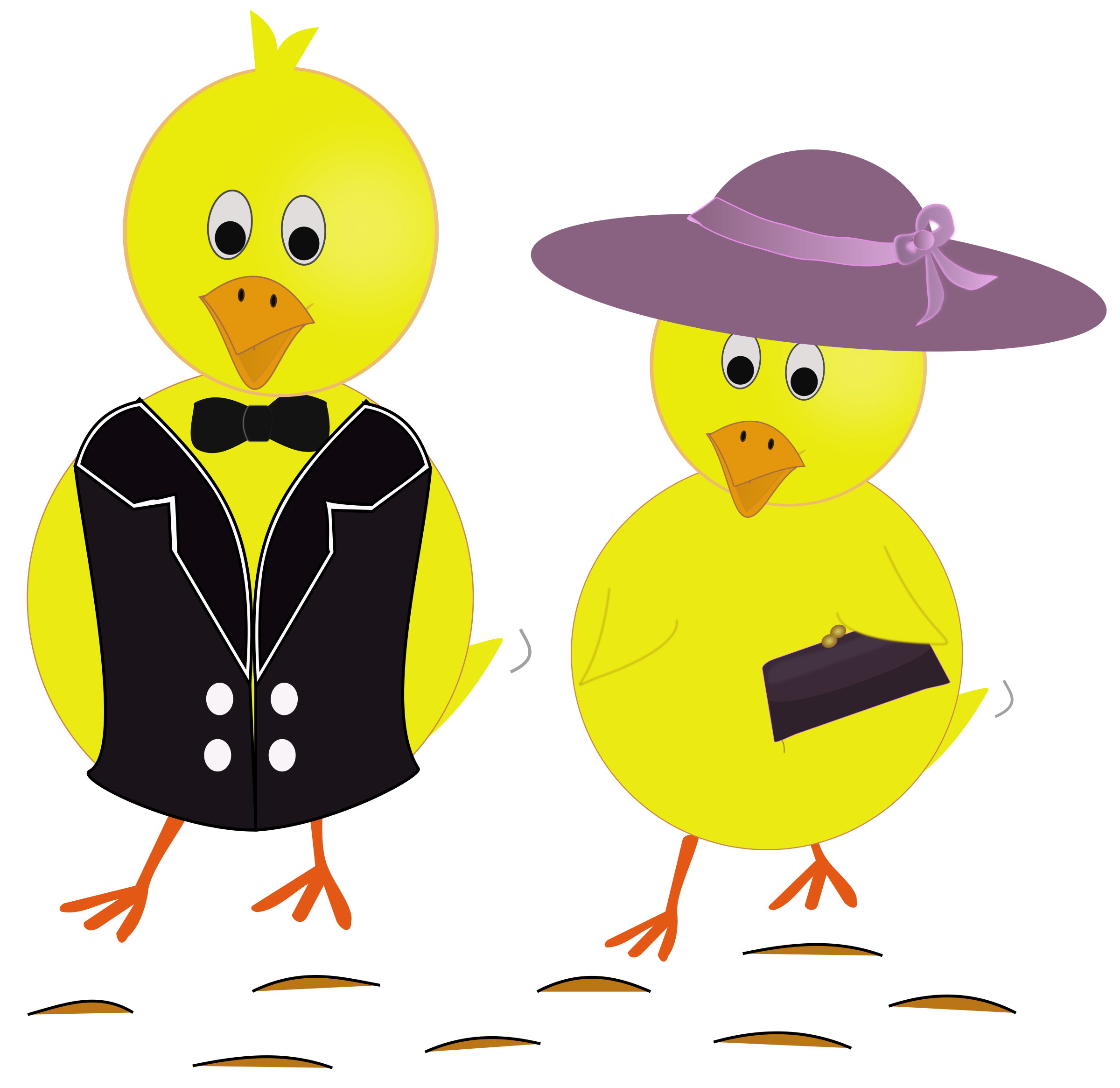 Vector duck easter. Clipart sunday chicks big