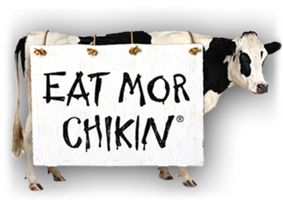 chick fil a cow png