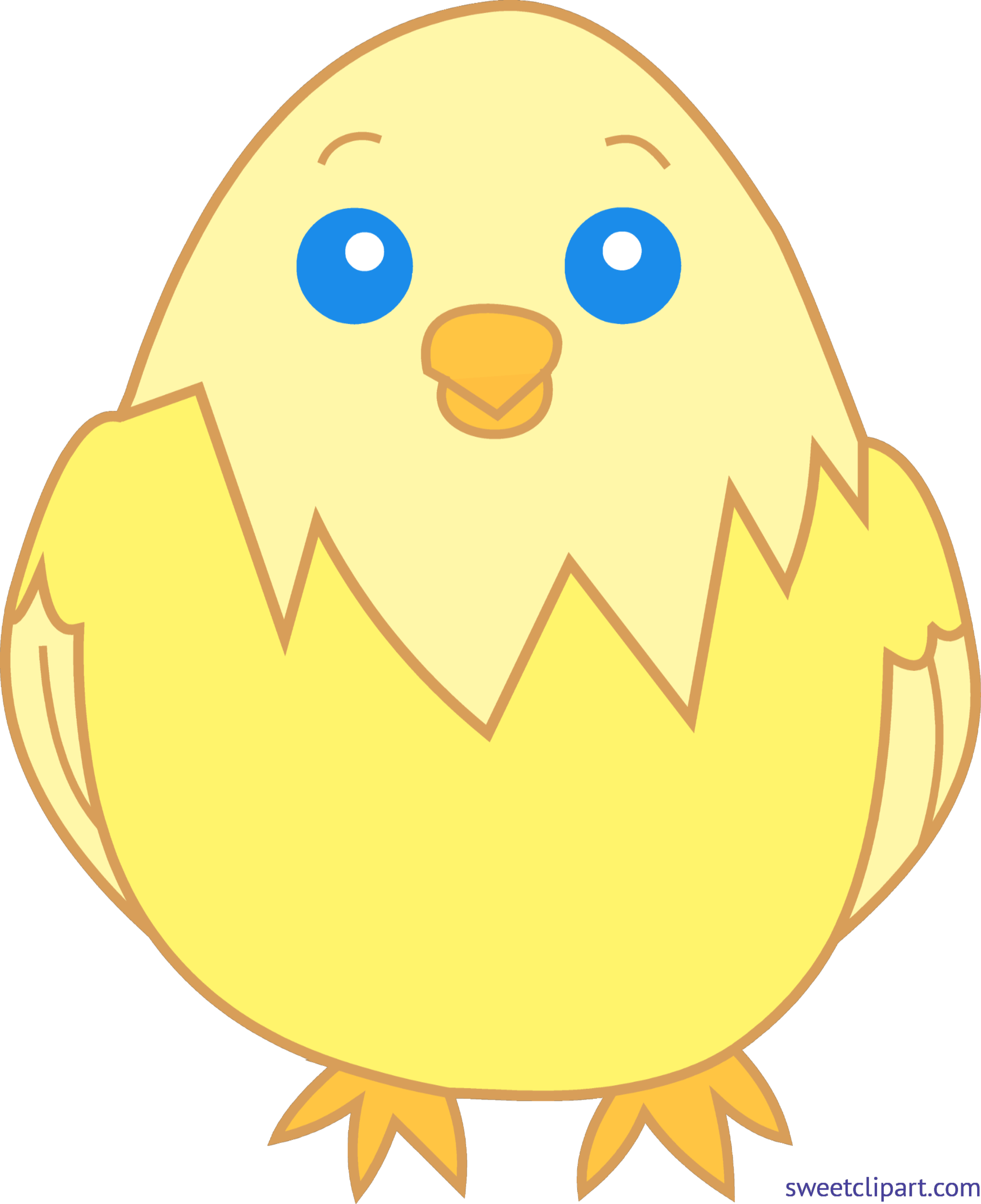 Chick transparent 3 baby. Yellow clip art sweet