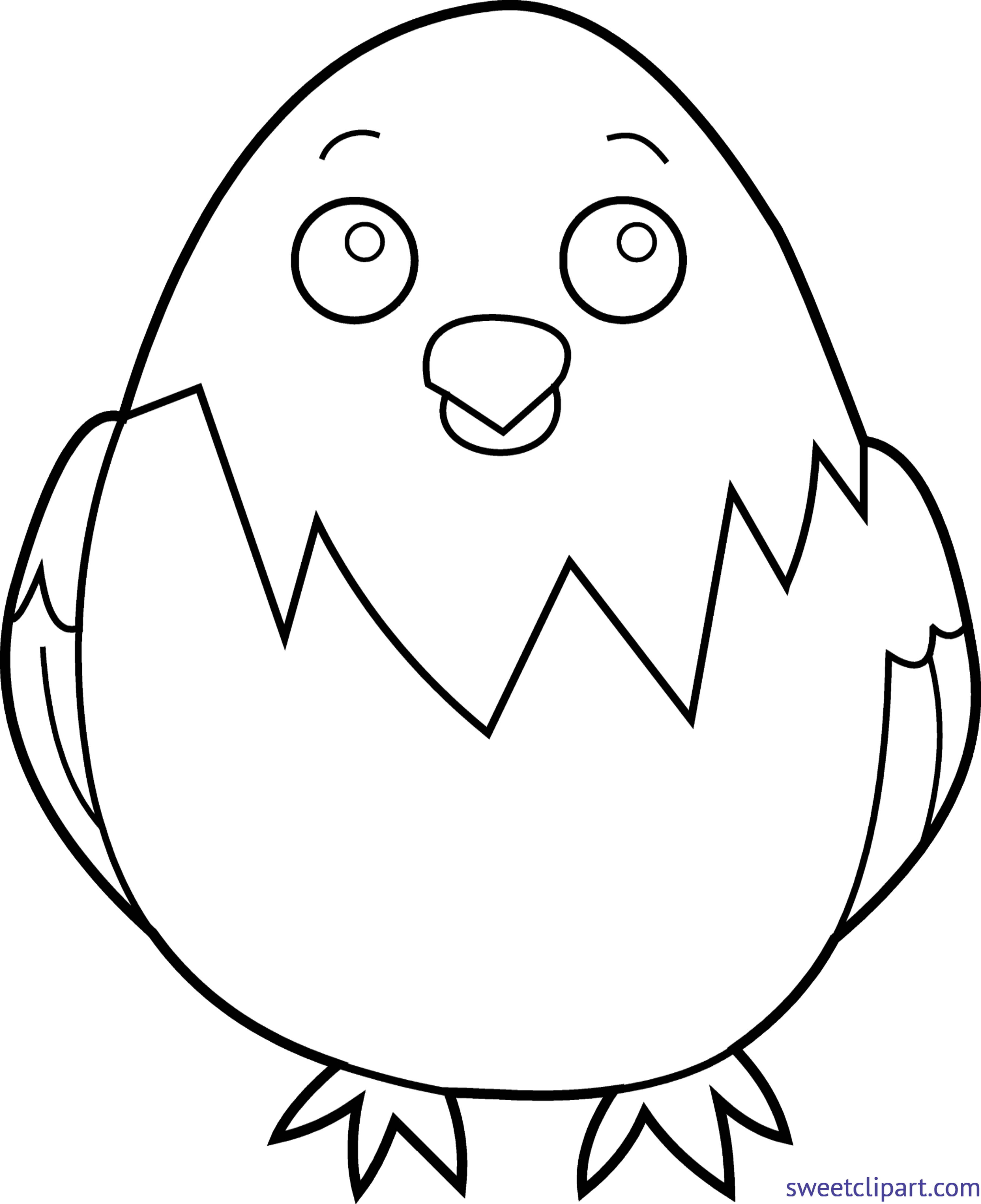 Chick transparent 3 baby. Lineart clip art sweet