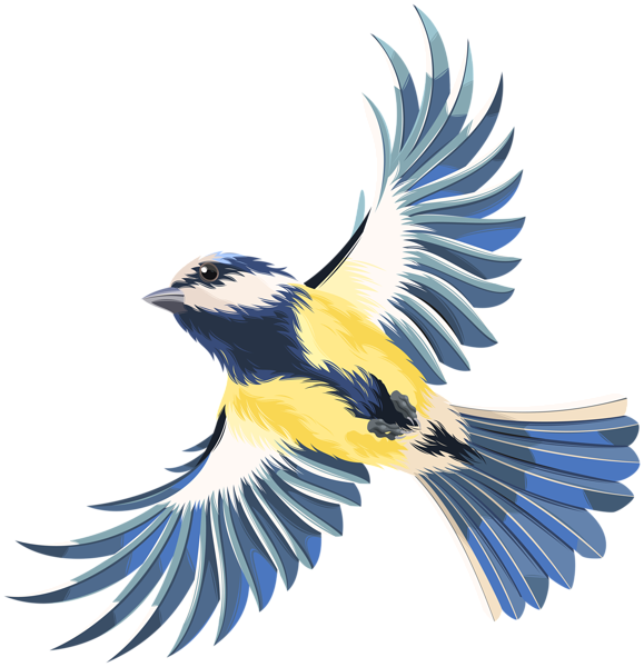 Chickadee vector stylized. Flying bird transparent png