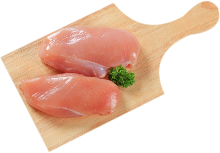 Chicken breast png. All natural skinless flint
