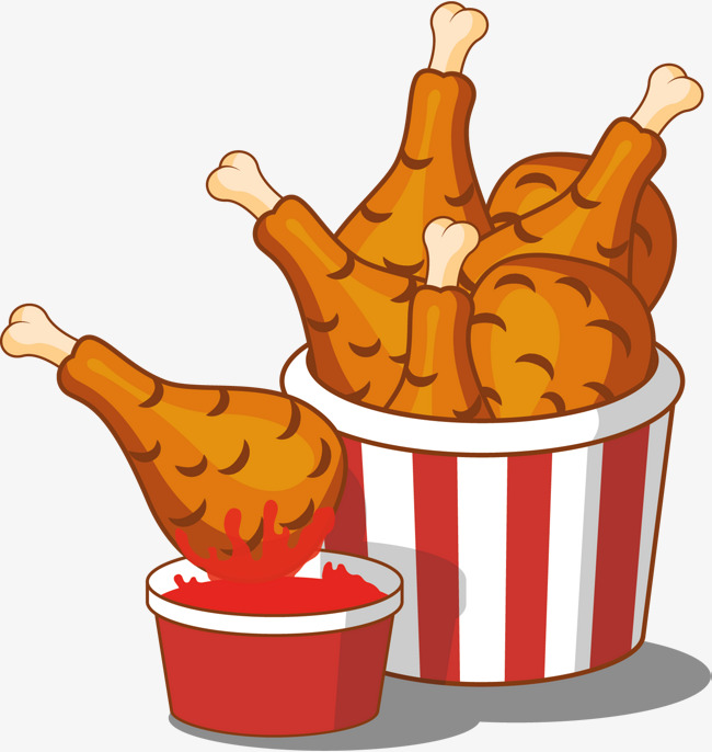 Chicken clipart chicken dish. Fried at getdrawings com