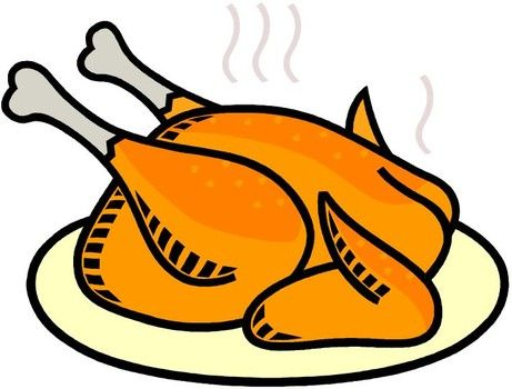 Chicken clipart chicken dish. Spicy and stuffed roasted