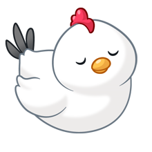 Chicken clipart kawaii. Chubby cute chickens images