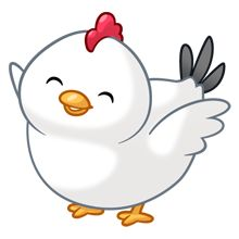 Chicken clipart kawaii. Chibi by daieny on