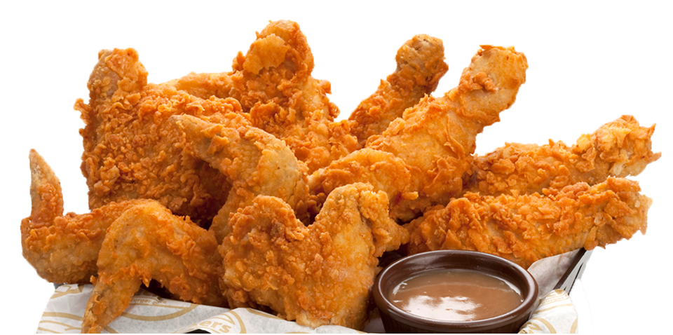Fries vector chicken dish. Fried png