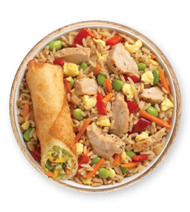 Chicken fried rice png. Kahiki products quick meal