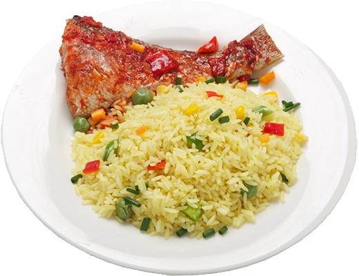Chicken fried rice png. West african seasoning company