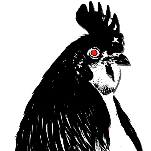 Chicken head png. Cropped raging transparent small