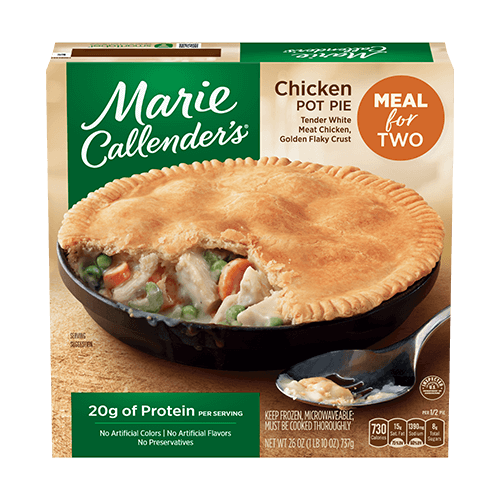 Chicken pot pie png. For two marie callender