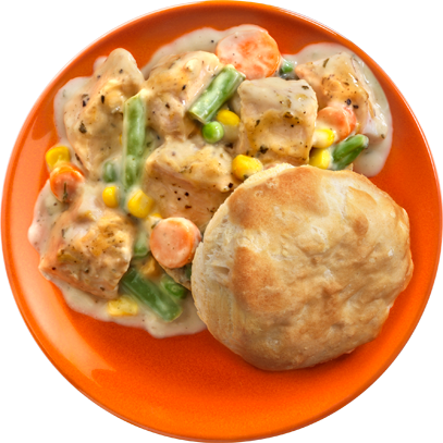 Chicken pot pie png. Campbell sauces how to
