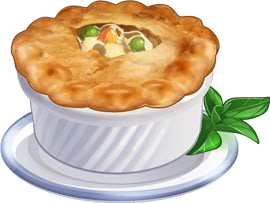 Chicken pot pie png. Image recipe chefville wiki
