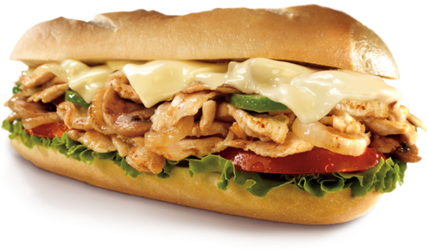 Sub sandwich png. Philly cheese chicken pick