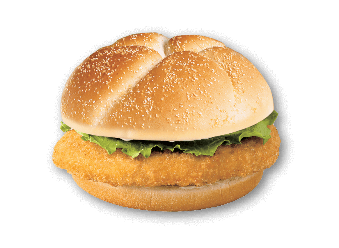 Vector sandwich chicken. Detail group product crispy